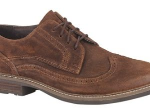 Magnate Seal Brown Suede Shoes by Naot - ShoesRx