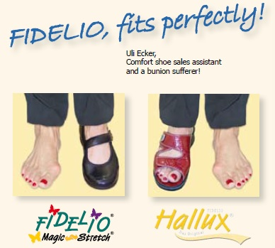 The Original Solution for Sufferers of Bunion Pain – Hallux by Fidelio